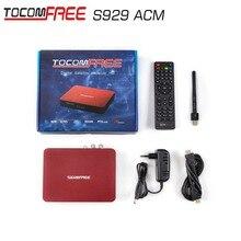 Mise à jour version Twin tuner Récepteur satellite receiver TOCOMFREE S929ACM avec sks iks gratuit pour L'amérique Du Sud