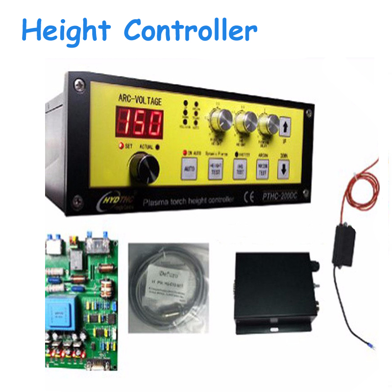 New CNC Controller Regulator of Height Torch Stand Alone Plasma Hight Automatic Tracking of Plasma Cutting Machine PTHC-200DC cnc plasma cutting machine torch height controller sh hc31