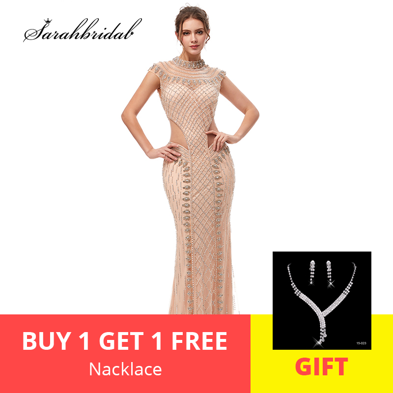 2019 New Arrivals In Stock Elegant Evening Dresses Mermaid Actual Tulle Floor Length Prom Party Dresses