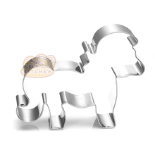 Stainless Steel Mini Animal Horse Shape Cookie Cutter Chocolate Cake Biscuit Pastry Mold Kitchen Supplies DIY Craft New H322