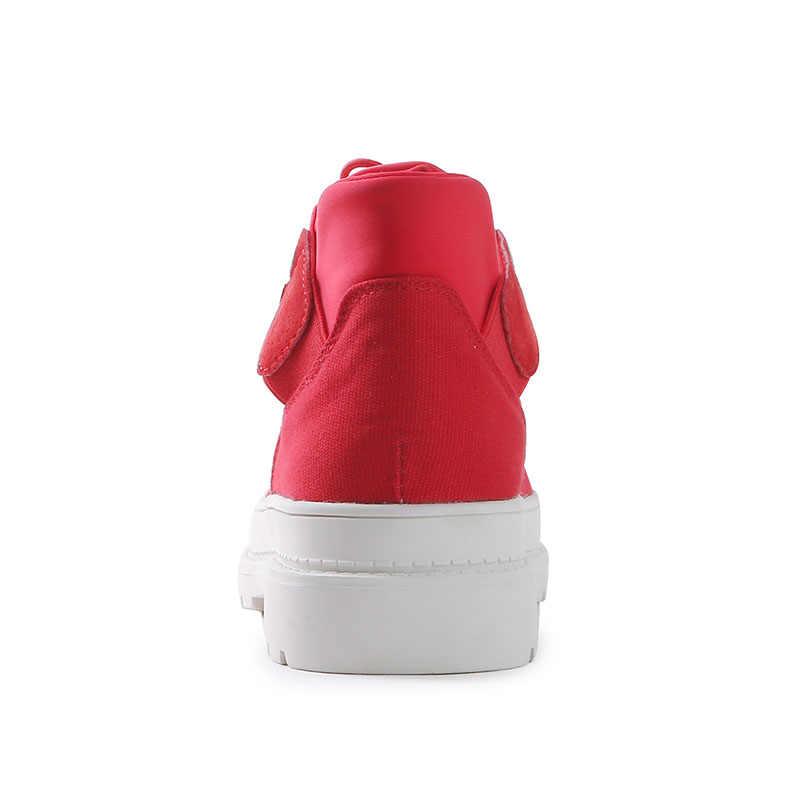 אופנה נשים של סתיו נעלי קרסול מגפי צורת מחודד צ 'לסי מגפי נמוך עקבים צאן להחליק על אישה