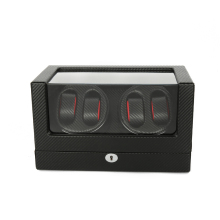 Watch Winder ,LTCJ Wooden Automatic Rotation 4+0 Watch Winder Storage Case Display Box (LB)