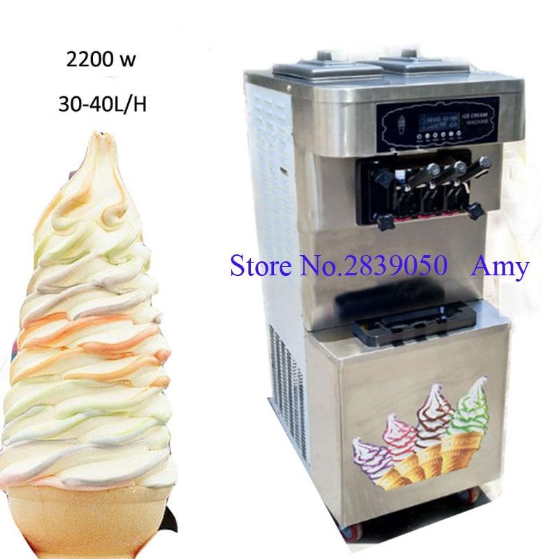 30 40 L/H mini soft ice cream machine made in china ...