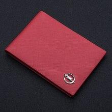 Сумка Для водительских прав из натуральной кожи для женщин, Подарочный классический кошелек, бумажник с логотипом автомобиля, посылка водительских прав для Opel