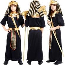 Trasporto Libero Egiziano Faraone Costume Per Bambini Ragazzi di Halloween  Di Natale di Travestimento Principe Fancy Dress Bambi. 2c47f5e0129