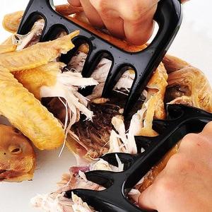 Image 5 - 20 adet/grup BARBEKÜ Ayı Pençeleri Barbekü Çatal Maşa Çekin Et Parçalayıcı Domuz Kelepçe Kavurma Çatal Siyah BARBEKÜ Barbekü Aracı