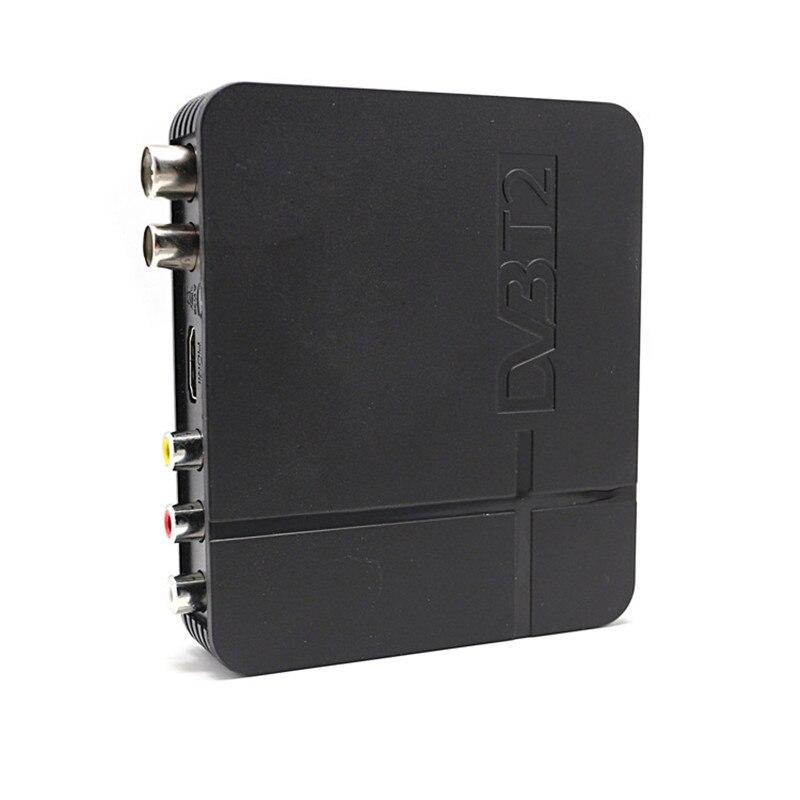 USB2.0 DVB T2 TV box Digital TV Terrestrischen Receiver DVB-T TV Tuner DVB-T2 MPEG-2/-4 H.264 Unterstützung HDMI europa/Russische DVBK2