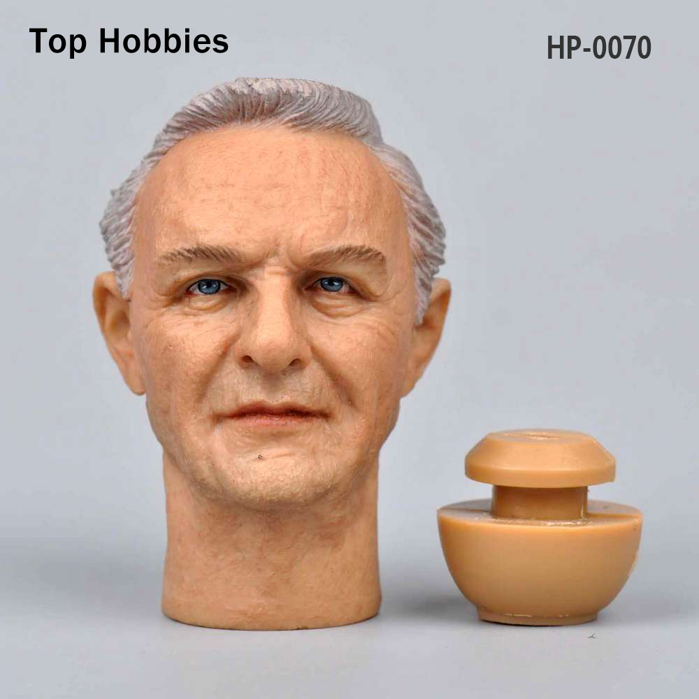 Headplay 1/6 Military Soldier Male Head Sculpt HP-0070 Anthony Hopkins Carving Model Fit 12 Phicen Action Figure Doll Body Toys b06 08 1 6 scale male head accessories carving sculpt model fit 12 inch phicen action figure doll toys