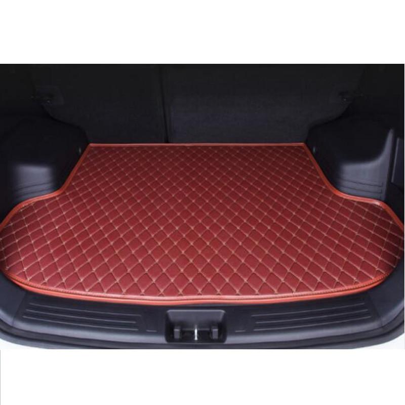 custom Car trunk mat for seat arona LEON Ibiza Cordoba Toledo Marbella Terra RONDA car accessories