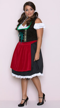 Women Oktoberfest Traditional Dirndl Costume