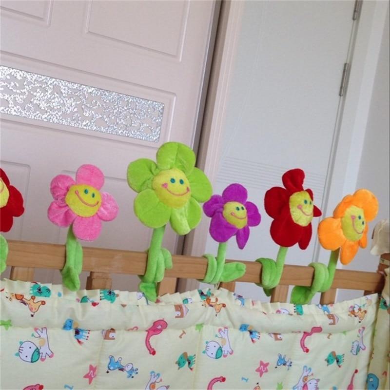 10pcs 커튼 액세서리 홈 장식 귀여운 미소 만화 - 동물 인형 - 사진 5
