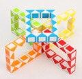 Lo nuevo ZCUBE Pequeño 24 Serpiente Torcedura Puzzle Cubo Mágico Cubo Rompecabezas laberinto Juguetes de los niños Educativos de aprendizaje como un Regalo de los niños Nave de La Gota
