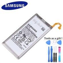 Batterie dorigine Samsung pour Samsung Galaxy Galaxy A8 2018 (A530) A530 SM A530F 3000 mAh Batteries de remplacement de téléphone EB BA530ABE