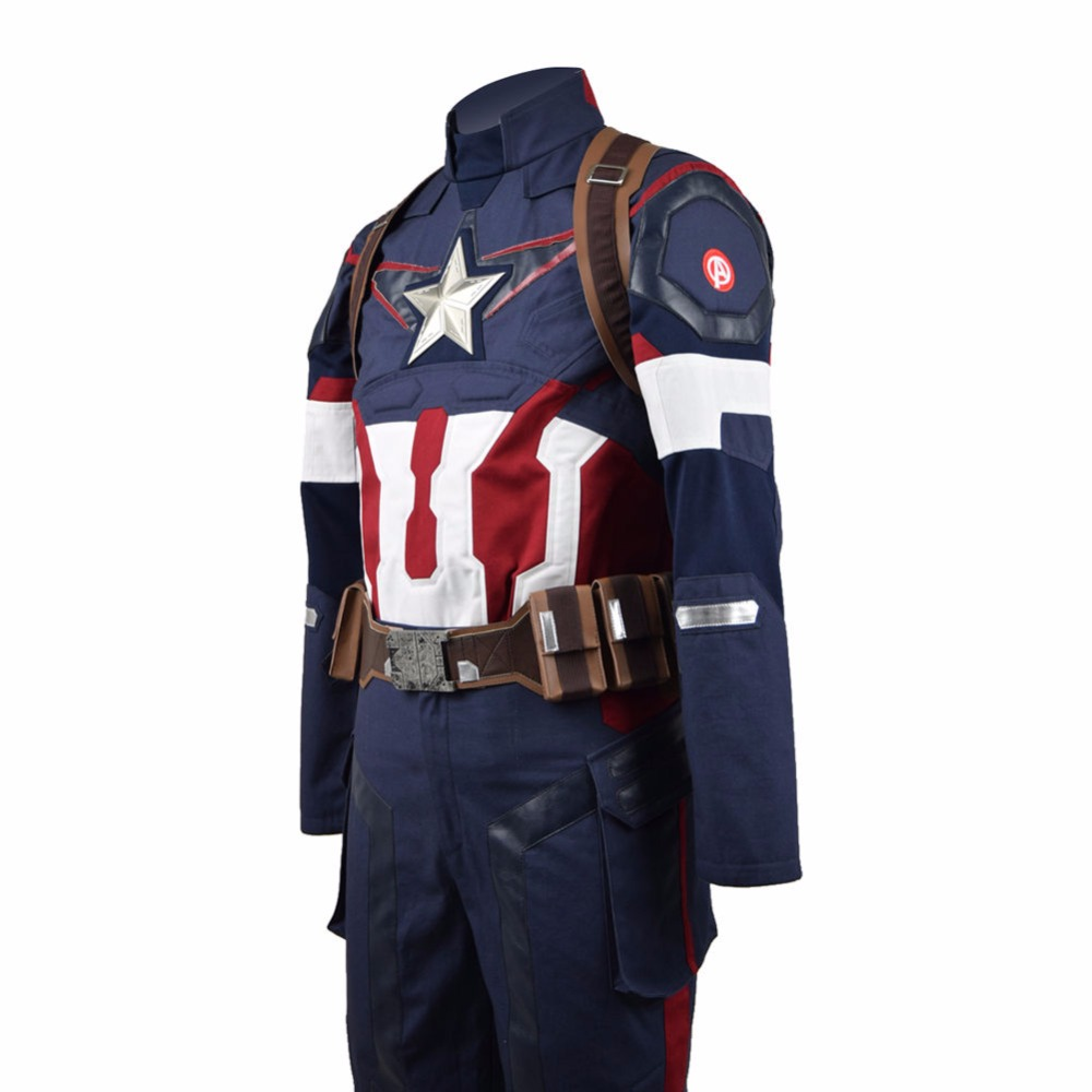 Rogers Last Uniform Battle 4