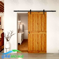 6 6 FT Cast Iron Sliding Barn Door Hardware