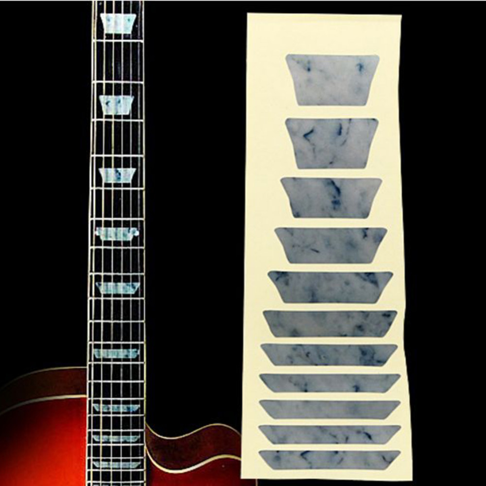 Guitar Parts & Accessories Official Website 100pcs 2.5mm Guitar Fingerboard Fret Side Dot Position Markers For Guitar Bass Parts Musical Instruments