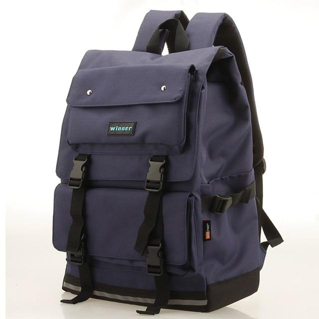 Korean Oxford Large Capacity Backpack Bag School Bags for Teenagers Mochila Kpop School Kanken Backpack 36-55L Portable Notebook