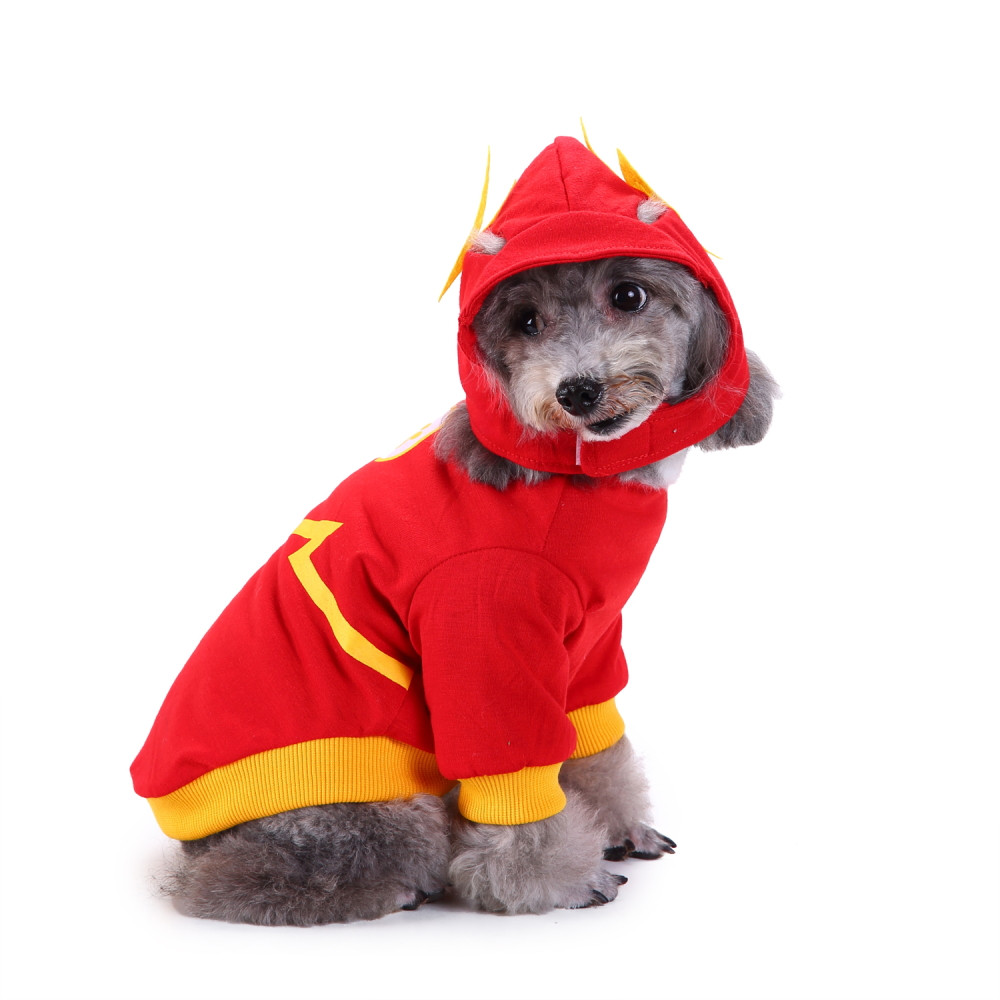 Fashion Pet Dog Pet Costume Dress Up Clothes Puppy Doggy Apparel Clothing Cute pet dog clothes suit autumn and winter