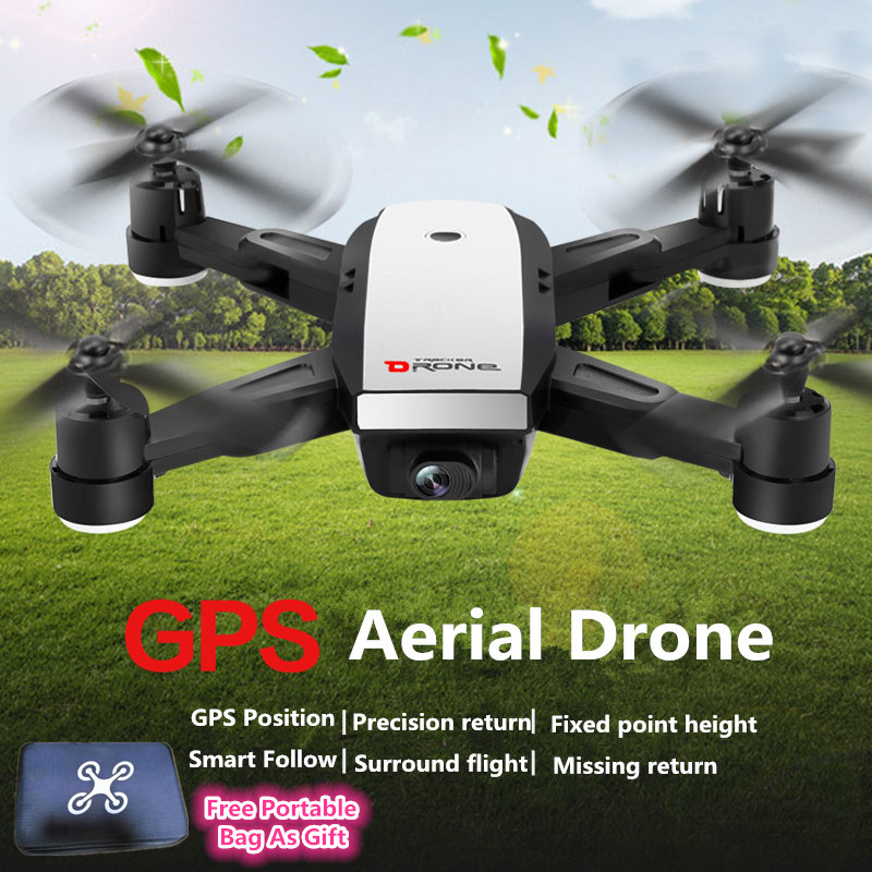 <font><b>GPS</b></font> Smart <font><b>Follow</b></font> Me Folding RC <font><b>drone</b></font> X28GWF <font><b>GPS</b></font> Position Wifi FPV 720P 1080P Camera Real-time UAV RCdrone vs <font><b>X183</b></font> GW198 With Bag image