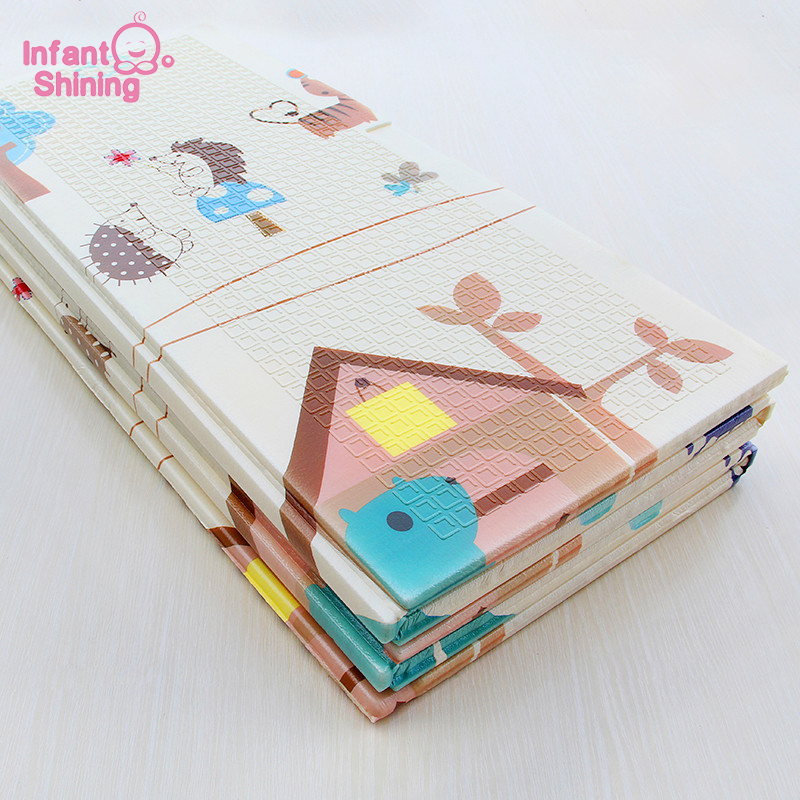 Infant Shining Baby Mat Play Mat for Kids 180*200*1cm Playmat Tapete Infantil kids Mat Soft Baby Rugs Crawling Baby Play Mat