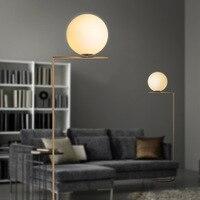 led e27 Postmodern Iron Crystal Marble Golden LED Lamp LED Light LED Floor Lamp Floor Light For Foyer Study Dinning Room Bedroom