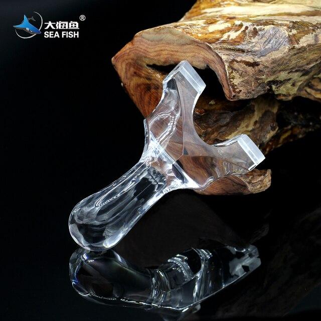 Luxury Crystal Slingshot World Champion Brand Sea Fish The Symbol Of