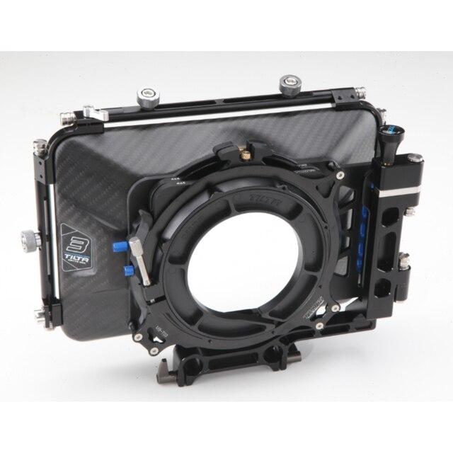 Tilta MB-T03 4*4 Carbon Fiber Matte box for 15mm rail support rig DSLR HDV Rig follow focus shooting