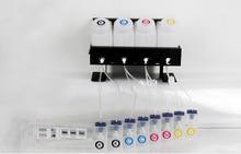 4 serbatoi + 8 cartucce di inchiostro roland sistema di inchiostro sfuso per Roland VS640 VS420 VS540 ciss sistema di inchiostro