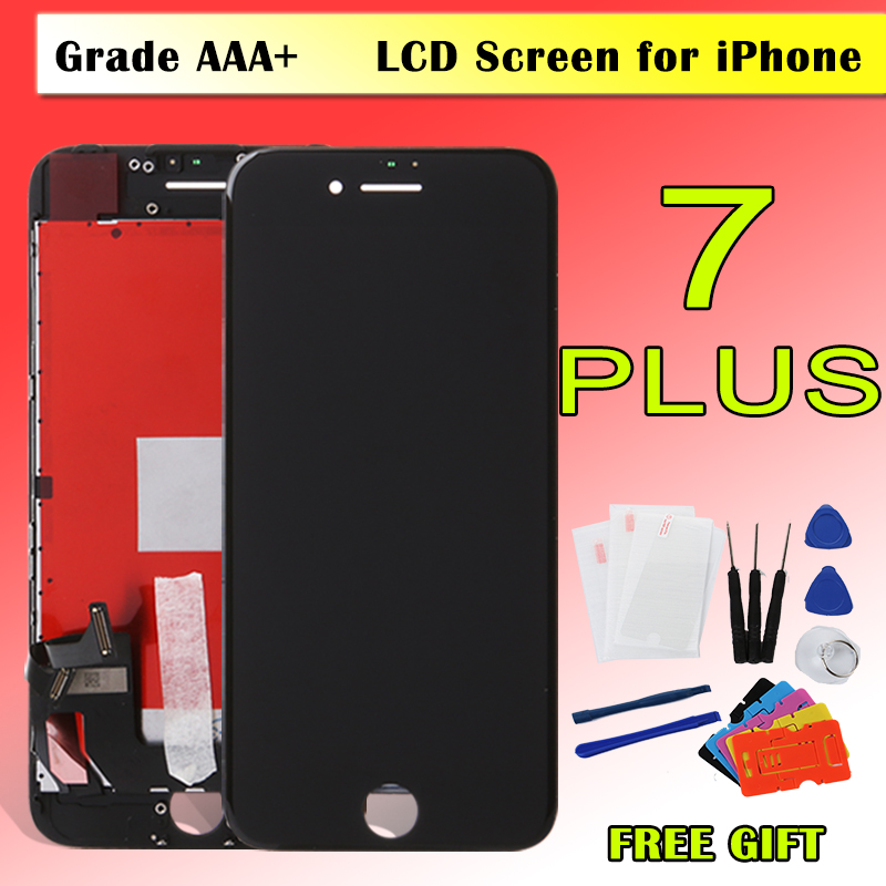 super popular 9ab2f 1b785 US $14.21 33% OFF|1PCS Alibaba China Grade AAAA+ Display For iPhone 7 7plus  LCD With 3D Touch Screen Assembly Display Replacement No Dead Pixel-in ...
