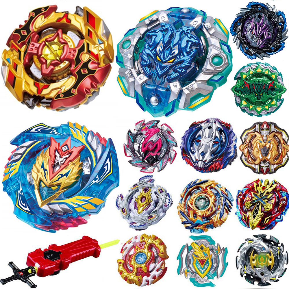 Tops Beyblade Burst Toys B-125 B-122 B-117 B-00 Bables Bayblade Toupie Metal Fusion God Spinning Top Bey Blade Blades Toy