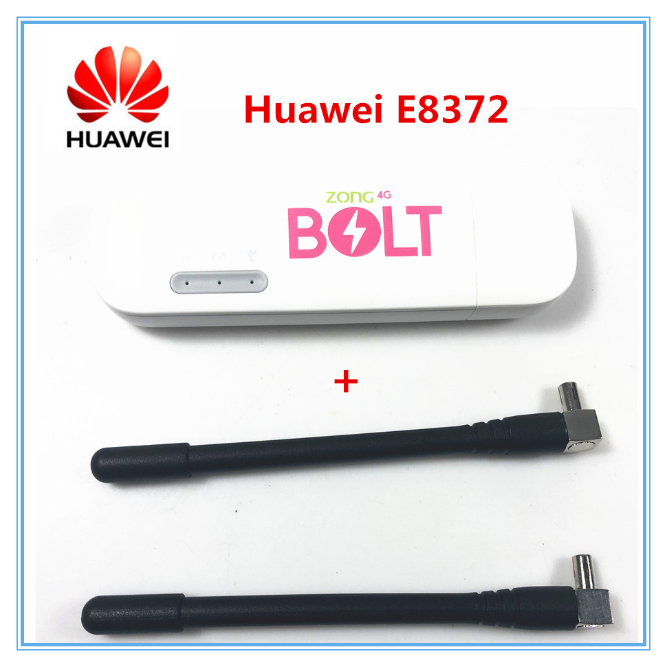 Huawei Router Modem Dongle E8372h-608-Antenna Car-Wifi E3372 Unlocked LTE 4G Universal title=