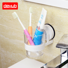 Vacuum Suction Cup Holder Wall Mounted Creative Toothbrush Holder  Bathroom Accessoires  For Toothbrush Holder Cup  Mug Holder