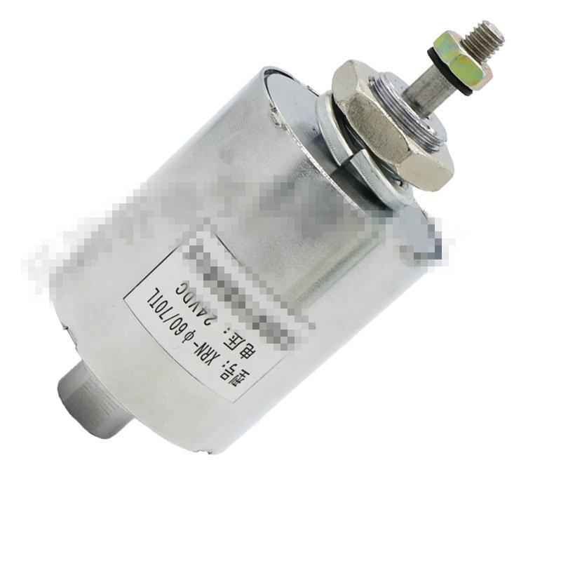 DC tipo di tubo solenoide bobina push-pull elettromagnete XRN-60X70TL DC 12 v 24 v Corsa 10mm di Aspirazione 3.5 kg 40 wDC tipo di tubo solenoide bobina push-pull elettromagnete XRN-60X70TL DC 12 v 24 v Corsa 10mm di Aspirazione 3.5 kg 40 w