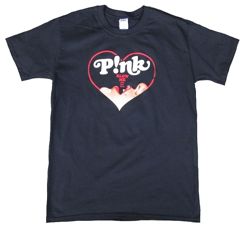 Official PINK <font><b>P</b></font>!<font><b>nk</b></font> Truth About Love BLOW HEARTS Blow Me One Last Kiss <font><b>T</b></font>-<font><b>Shirt</b></font> M Cool Casual pride <font><b>t</b></font> <font><b>shirt</b></font> men Unisex New image