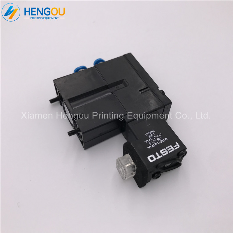 6 Pieces M2.184.1111 Hengoucn Printing Machine Parts Solenoid Valve M2.184.1111/05 MEBH-4/2-QS-4-SA6 Pieces M2.184.1111 Hengoucn Printing Machine Parts Solenoid Valve M2.184.1111/05 MEBH-4/2-QS-4-SA