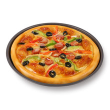 Simulated Seafood Pizza Food Model Dishes Display Sample Decoration Props Handicraft Artificial Props Table Ornaments Display