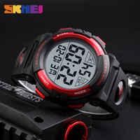 2018 Fashion Outdoor Sports Watches Mens Watch Multifunction Waterproof Digital Wristwatch Man Clock Relogio Masculino SKMEI New