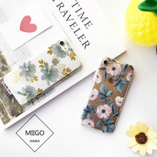 Камелия Роза кактус Bronzing телефон чехлы для iPhone 7 7 плюс Лили Цветочные Ясно Жесткий Чехол для iPhone 6 6S 6/6S плюс