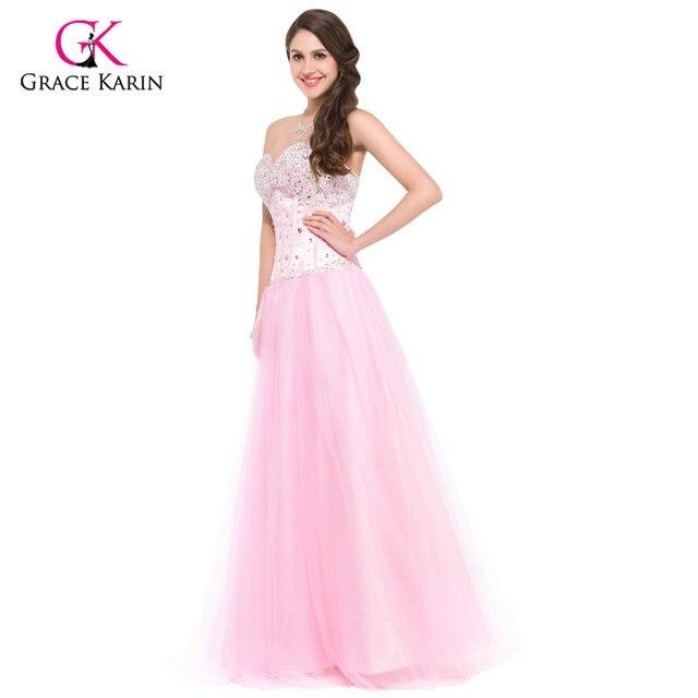Online Shop Long Elegant Prom Dresses 2018 Fast Delivery Grace Karin ...