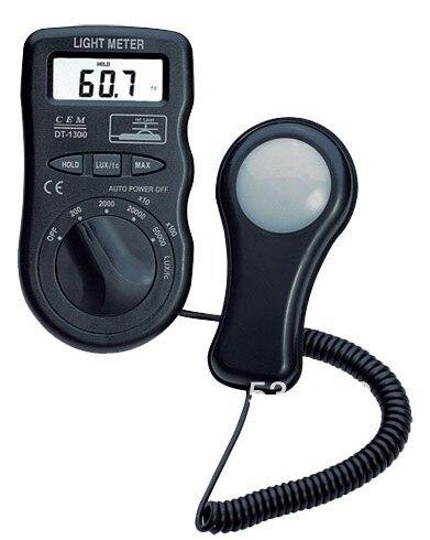 ФОТО Max Range 50,000lux/Fc /400,000Lux Digital Light Meters / Light Tester Portable