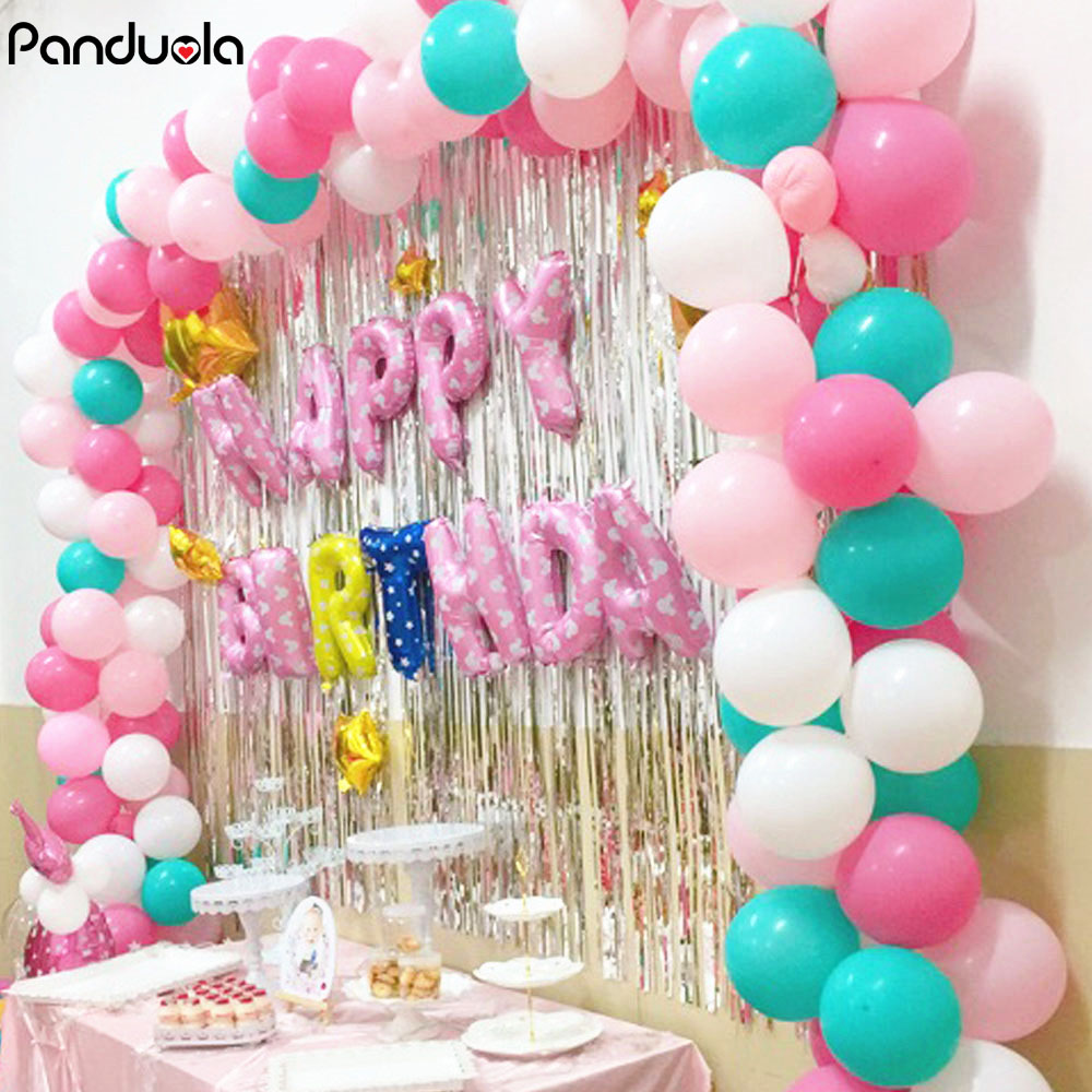 30Pcs 2.2g Princess Birthday Decoration Balloon Balloons