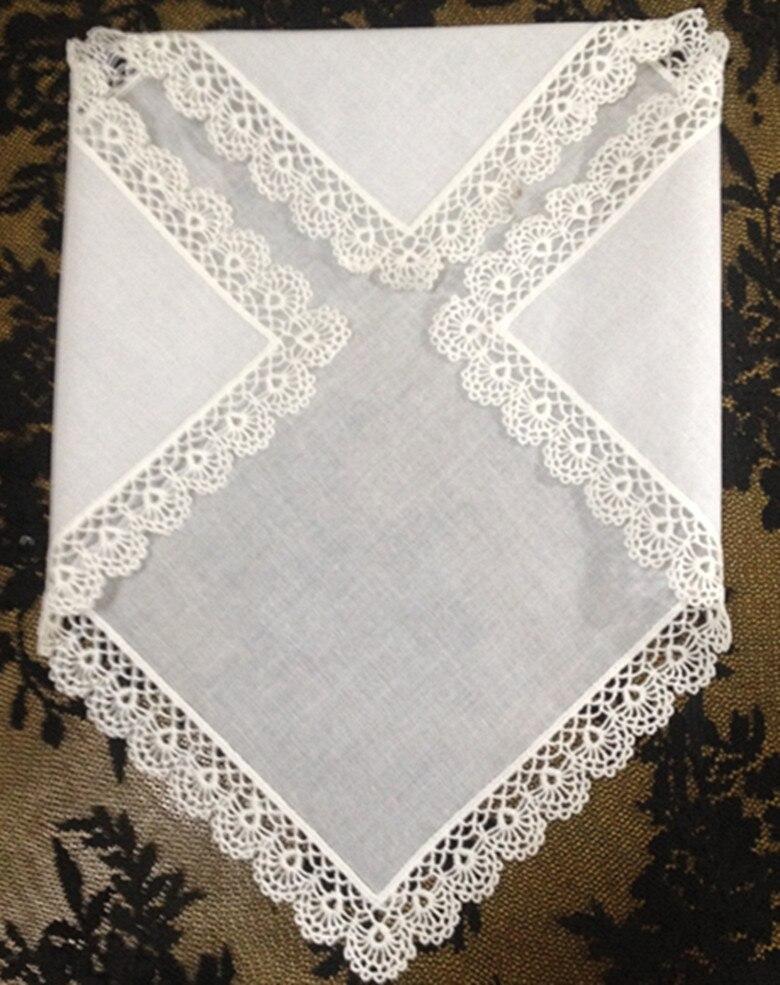 Fashion Women/'s Handkerchiefs 12PCS/Lot 12x12