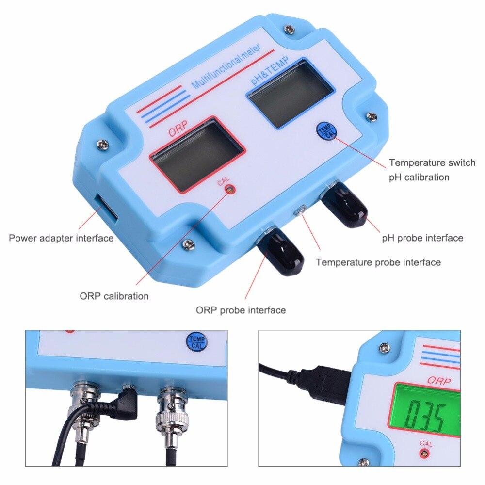 Measuring Instrument JPB-70A Portable Digital Pen Dissolved Oxygen Meter Water Quality Tester Do Meter Detector Test Range 0-20 Mg//l Multifunctional
