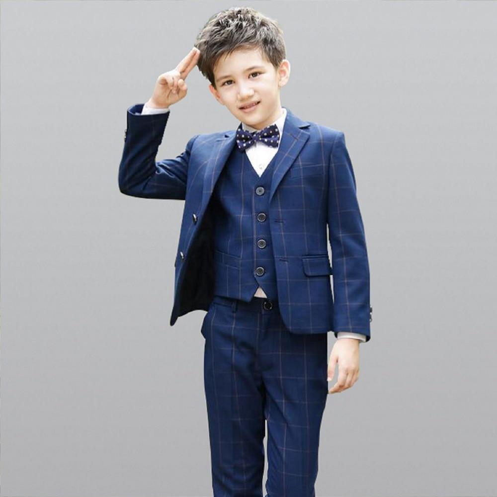 2019 Di Modo Di Costume Per Il Ragazzo Vestito Di Petto Ragazzi Costumi Per Matrimoni Vestito Enfant Garcon Mariage Ragazzi Giacca Per La Cerimonia Nuziale 5 Pcs