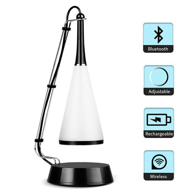 Cable Usb Rechargeable Sans Fil Led Lampe De Table Moderne Tactile