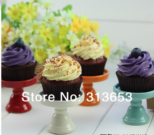 wedding cake cupcake pan new arrival ceramic mini cupcake stand cupcake display 8603