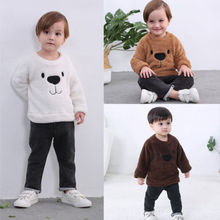 Bear Tops Blouse Long Sleeve Sweatshirt Size 2-5T