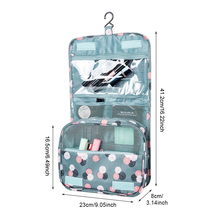 Hanging Toiletry Storage Bags Travel Wash Pouch Cosmetic Organizer Accessories