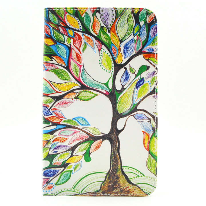 BIG Trees leather protective cover case For samsung galaxy tab 4 8.0 T330/T331/T335 8 tablet case cover+stylus pen+Film