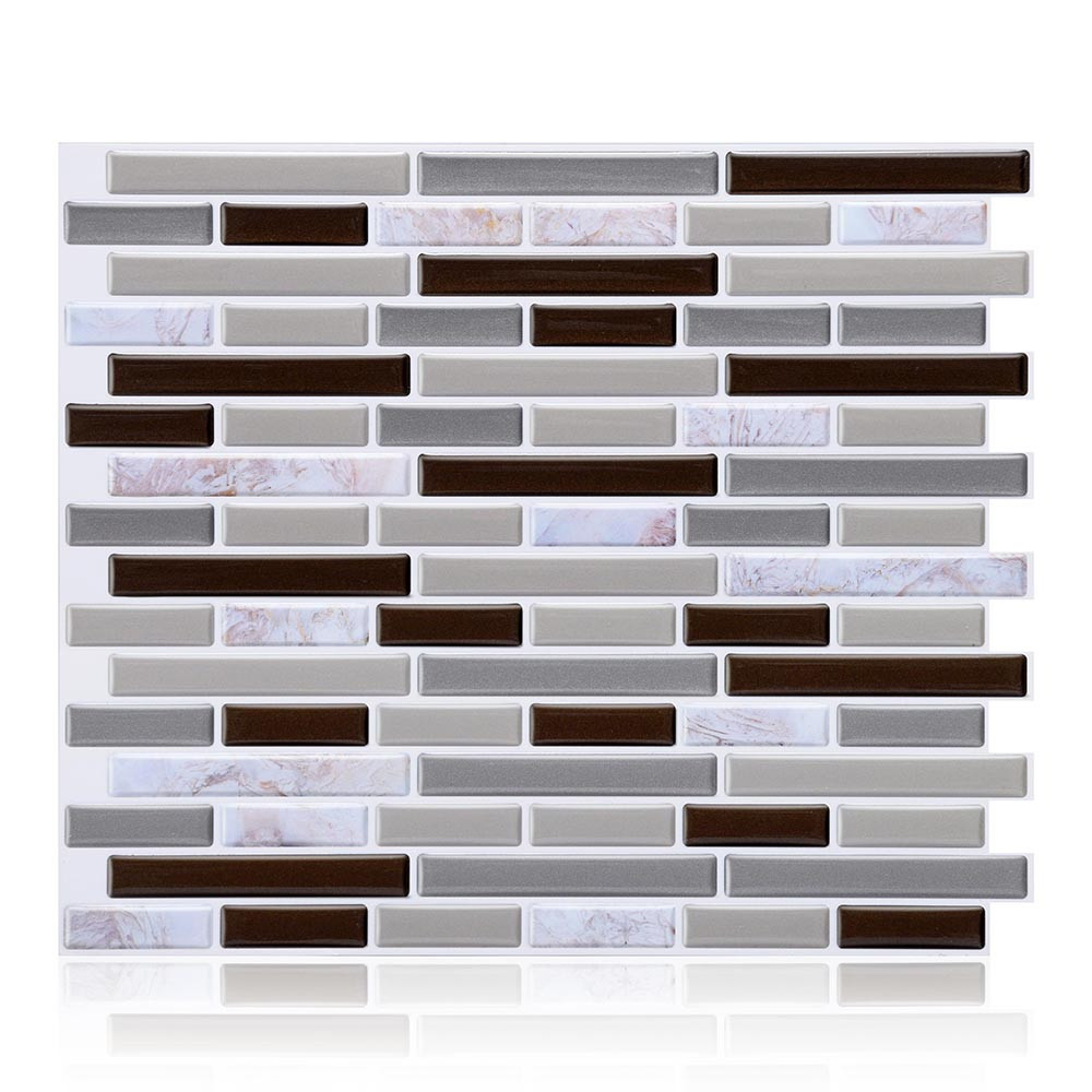 3d self adhesive wall tiles clever tiles glitter mosaic self adhesive tiles 23x28cm new arrival. Black Bedroom Furniture Sets. Home Design Ideas